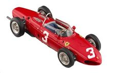 CMC Ferrari Dino 156 F1 Nürburgring, GP Germany 1961 #3 Limited Edition 1:18 Scale by CMC-Classic Model Cars, USA. $319.99. From the Manufacturer                Ferrari Dino 156 F1  #3: Nürburgring, GP Germany 1961, Driven by Wolfgang Graf Berghe von Trips; The 1961 Formula 1 season came up with a completely new rule type. The racing teams had to switch their engines from 2.5 to 1.5 liters. Ferrari found itself in a very good position. They had developed a V6...