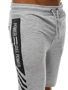 Kliknij na zdjęcie, aby je powiększyć Bermudas Shorts, Grey Shorts, Mens Jogger Pants, Basic Shorts, Boys Pajamas, Gym Wear, Workout Shorts, Mens Fitness, Sportswear