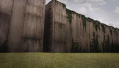 My attempt at recreating the wall from The Maze Runner Newt Maze Runner, Maze Runner Movie, Maze Runner Series, Your Sky, Sad Pictures, Book Aesthetic, Story Inspiration, Picture Wall, Animation