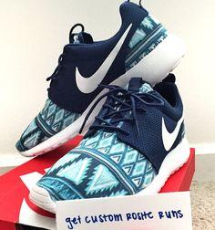 Aztec Custom Nike Roshe Runs by GetCustomRosheRuns on Etsy