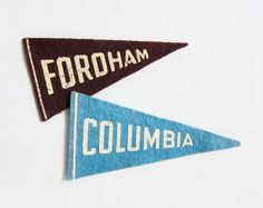 Ooh, could make really SIMPLE mini pennants.