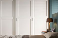 Our Matt White Lacquer Boom Country Doors are simply perfect for a clean look #NeatsmithWardrobe #Neatsmith #Wardrobe
