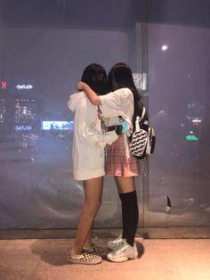 Cute Korean, Korean Girl, Asian Girl, Cute Lesbian Couples, Lesbian Love, Bff, Girls In Love, Cute Girls, Lgbt