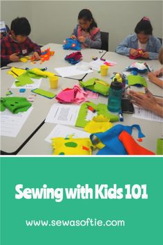 Want to teach your kids to hand sew? This essential guide will help you get started with everything you need to know. Sewing Projects For Kids, Sewing For Kids, Free Sewing, How To Teach Kids, Crafts For Kids To Make, Plushie Patterns, Running Stitch, Sewing Class, Sewing For Beginners