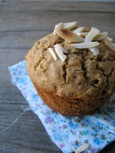 my darling lemon thyme: buckwheat, apple and ginger muffin recipe {gluten-free, dairy-free}