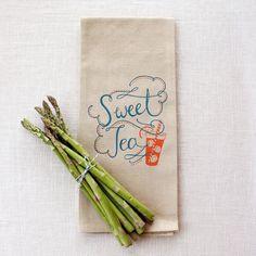 Sweet Tea Towel on Behance
