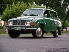 Saab 95 1970.
