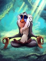Resultat d'imatges de rafiki meditating