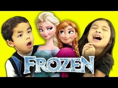 Kids React to the Song 'Let It Go' From the Disney Movie 'Frozen' Being Sung In 25 Different Languages