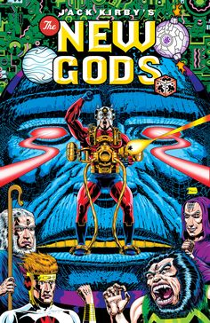 New Gods cover (created for Jon Morris' DC Fifty-Too! blog) by Brooklyn based artist Benjamin Marra