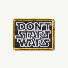 Don't Start Wars Patch