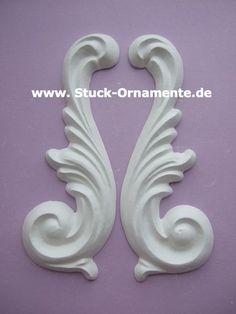 Wandtattoo - Echter Stuck - Stuck Ornament - Meeresgöttin - ein Designerstück von RC-Stilmoebel bei DaWanda