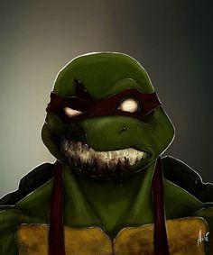#AndreFreitas zombie tortugas