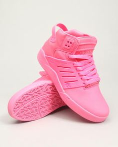 Skytop 3 Pink Leather Sneakers  $120.00 @Dr.Jay's. Love the pink color