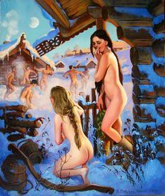 Art by Vera Donskaya