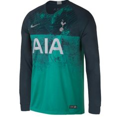 f51b3710c2e Tottenham Hotspur 18 19 Third Men Long Sleeve Soccer Jersey Personaliz –  zorrojersey Numbers