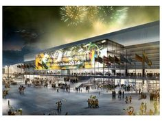 Arena da Baixada Stadium Fifa World Cup 2014 in Brazil