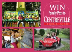 Centreville Family Pass Giveaway! You could be the winner of a Family of 4 All Day Ride Pass – we've got 3 passes to give away! | LocalParent