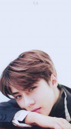 Image Sehun staring at you like this.♡♡