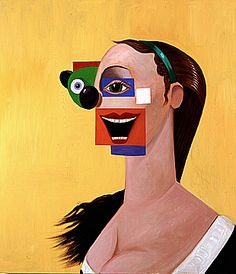george condo✖️More Pins Like This One At FOSTERGINGER @ Pinterest✖️