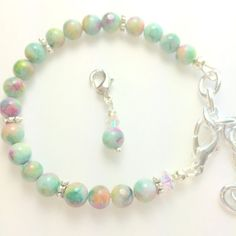 Jade Weight loss bracelet Weight Watchers by GinnyRiggle on Etsy