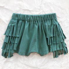 mini & maximus fringe shorts - bottoms - girl | Thumbe Line