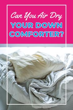 What's the best way to dry a down comforter? Tumble drying or air drying? Learn first how to wash a down comforter and then see our easy guides for drying, whether in a dryer or al fresco. Laundry Storage, Diy Storage, Down Comforter, Doing Laundry, Fresco, Dryer, Dreaming Of You, Comforters, Easy