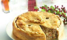 メープルシロップのポークパイ