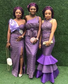 Latest Aso Ebi Lace Styles 55 Aso Ebi Styles That Will Inspire You This Weekend African Lace Dresses, Latest African Fashion Dresses, African Dresses For Women, African Women, African Wedding Attire, African Attire, African Outfits, African Weddings, African Wear