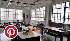 """Today in our weekly signature """"What's Hot on Pinterest"""" we are going to present you 5 inspiring pictures about industrial lofts."""