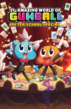 Resultado de imagen para ben bocquelet the amazing world of gumball: after school special