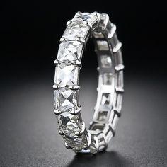 gorgeous! French-Cut Diamond Band - 110-3-3992 - Lang Antiques