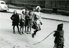 """Skipping ropes -- great fun ! we used to do """"double ropes"""", much more daring! :) dw"""