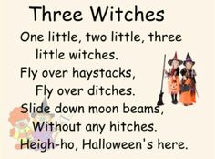 Halloween Song.  . .