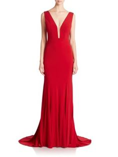 Jovani - Sleeveless Mermaid Gown