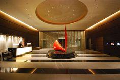 Conrad Tokyo : Entrance Lobby by lyh1 ~ On & Off, via Flickr