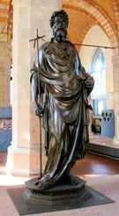 Saint John the Baptist by Ghiberti - 1416 - Orsanmichele Church and Museum - Florence