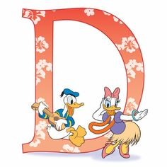 D is for Donald & Daisy