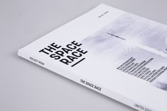 This is part of an academic project made in the context of the MA in Communication Design, at ESAD Matosinhos. It is a book that explains The Space Race, a competition between the US and USSR during the Cold War.