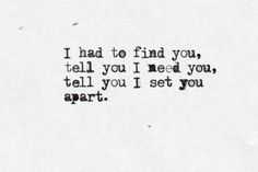 Coldplay: The Scientist - 'I had to find you, tell you I need you. Tell you I set you apart.'