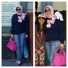 My Hijab..My Style ~ By ArieAnoy in Hongkong Disneyland