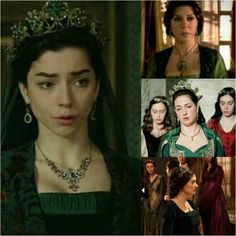 """Magnificent Heritage : """"stealed"""" outfit of Nurbanu- Yelek from Valide sultan, Fatma's tiara and Huricihan's dress"""