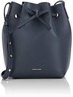 Mansur Gavriel Women's Mini Bucket Bag-BLUE