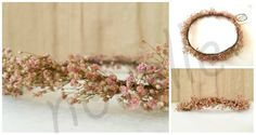 collage paniculata rosa marca agua Table Decorations, Home Decor, Floral Crowns, Headpieces, Brides, Cushions, Water, Homemade Home Decor, Decoration Home