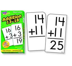 Skill Drill Flash Cards: Addition 13-18
