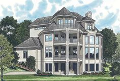 House Plans And More, Luxury House Plans, Dream House Plans, Modern House Plans, Small House Plans, House Floor Plans, The Plan, How To Plan, Mediterranean House Plans