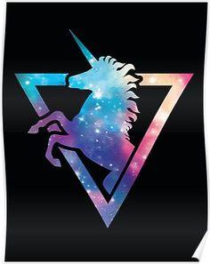 Galaxy Unicorn Art Print By Retkikosmos Design By Humans Unicorn Logo, Unicorn Poster, Unicorn Art, Cute Unicorn, Unicornios Wallpaper, Galaxy Wallpaper, Wallpaper Ideas, Unicorn Pictures, Unicorns And Mermaids
