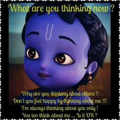 We're always troubled by one thing or another when we're engaged in worldly, materialistic thoughts and actions. Arte Krishna, Krishna Flute, Krishna Hindu, Krishna Leela, Krishna Statue, Radha Krishna Love Quotes, Lord Krishna Images, Radha Krishna Pictures, Radha Krishna Photo