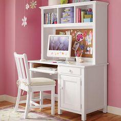 Girls Desks On Pinterest Desk Hutch Desks And Kid Desk