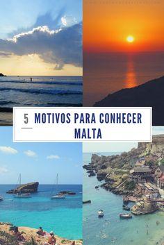 5 motivos para conhecer Malta. Conheça as praias, cidades, templos megalíticos, e tudo que Malta tem para oferecer. Malta é o melhor destinos para suas próximas férias.